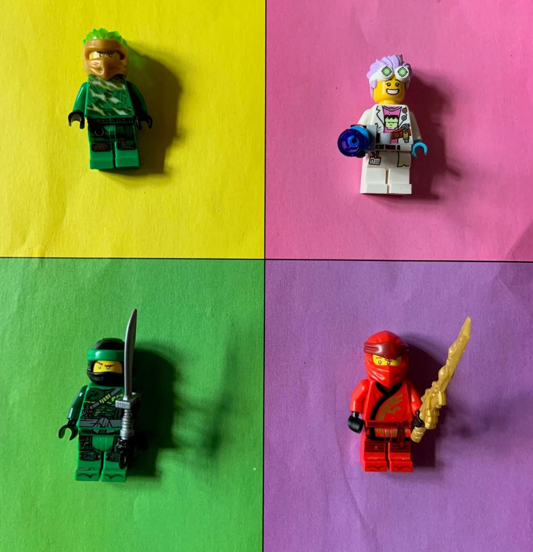 Alexander - Warhol Inspired Lego Men