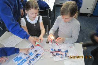 Class 2 making torches electricity science (8)