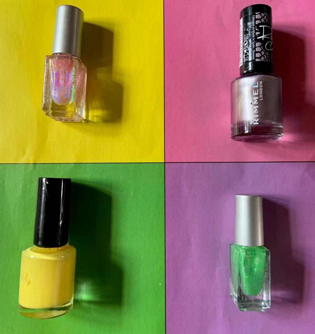 Grace Warhol-inspired pop art 'Nail Varnish'